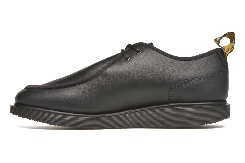 Chaussures à lacets Dr. Martens Leverton Noir vue face