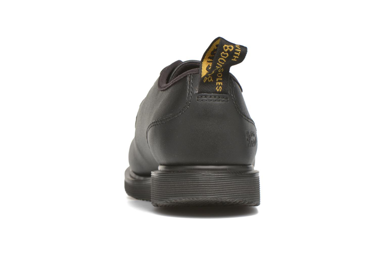 Chaussures à lacets Dr. Martens Leverton Noir vue droite