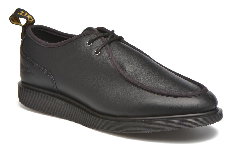 Chaussures à lacets Dr. Martens Leverton Noir vue détail/paire