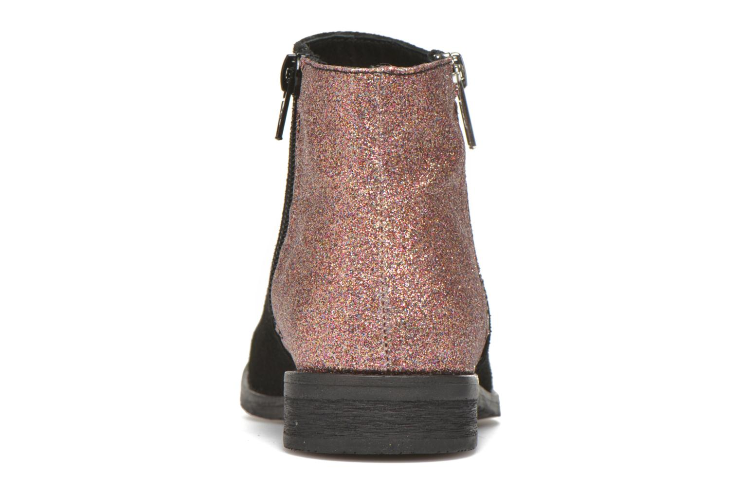Ankle boots Yep Fabiola Black view from the right