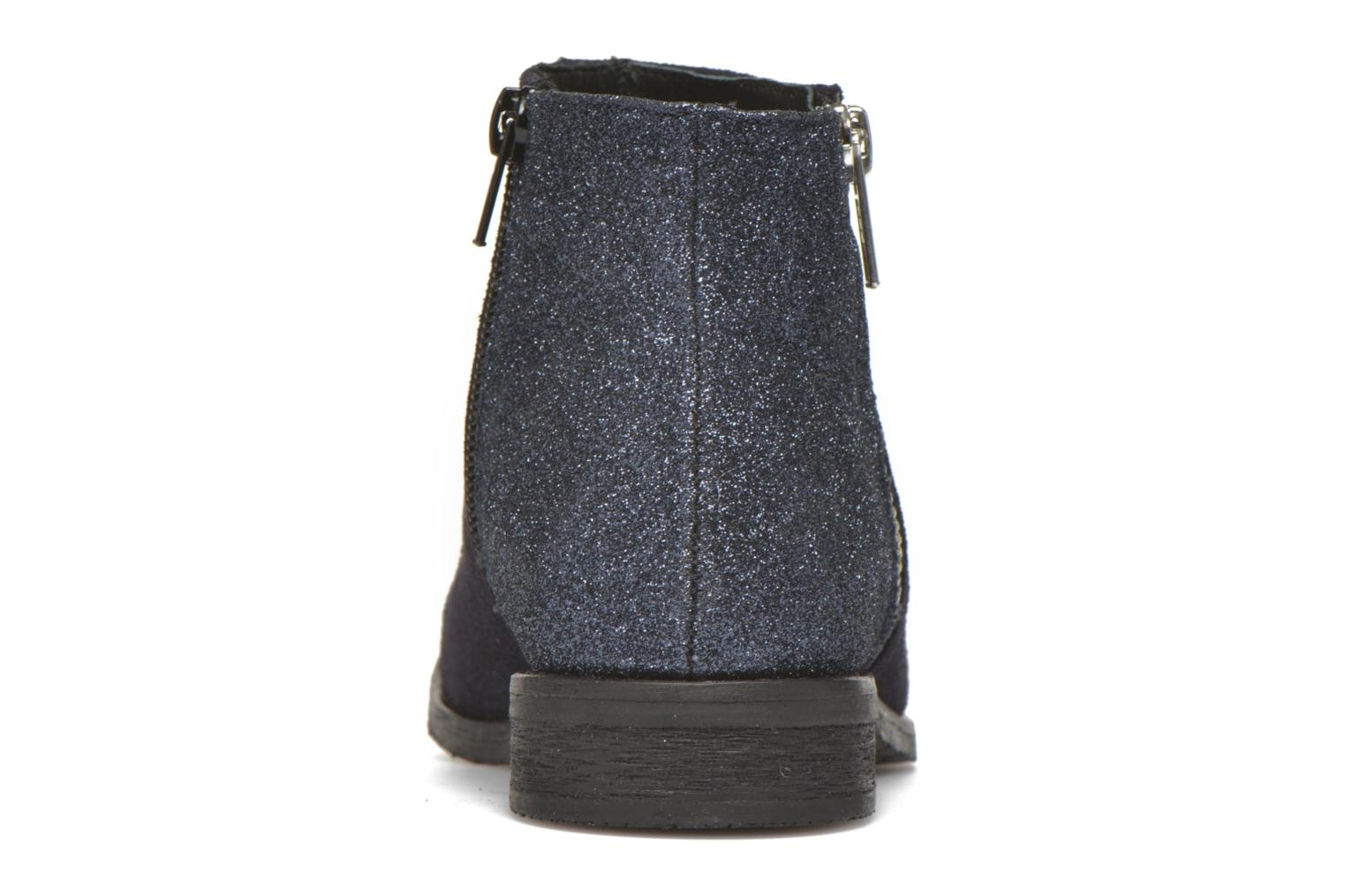 Ankle boots Yep Fabiola Blue view from the right