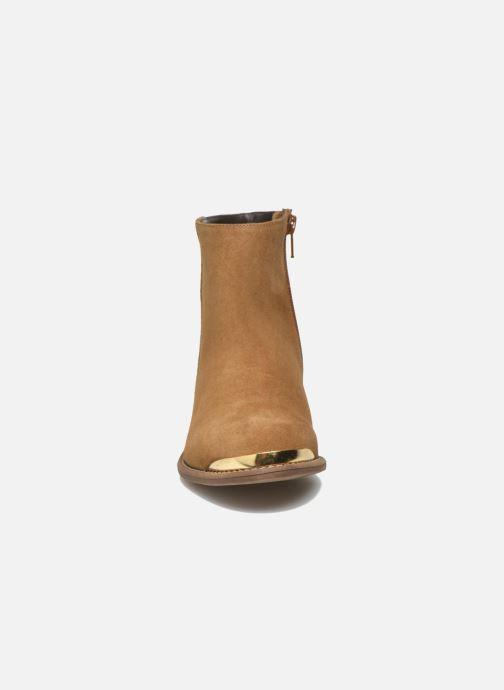 Ankle boots Yep Fanny Beige model view