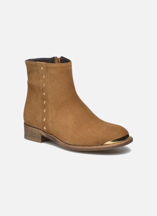 Ankelstøvler Yep Fanny Beige detaljeret billede af skoene
