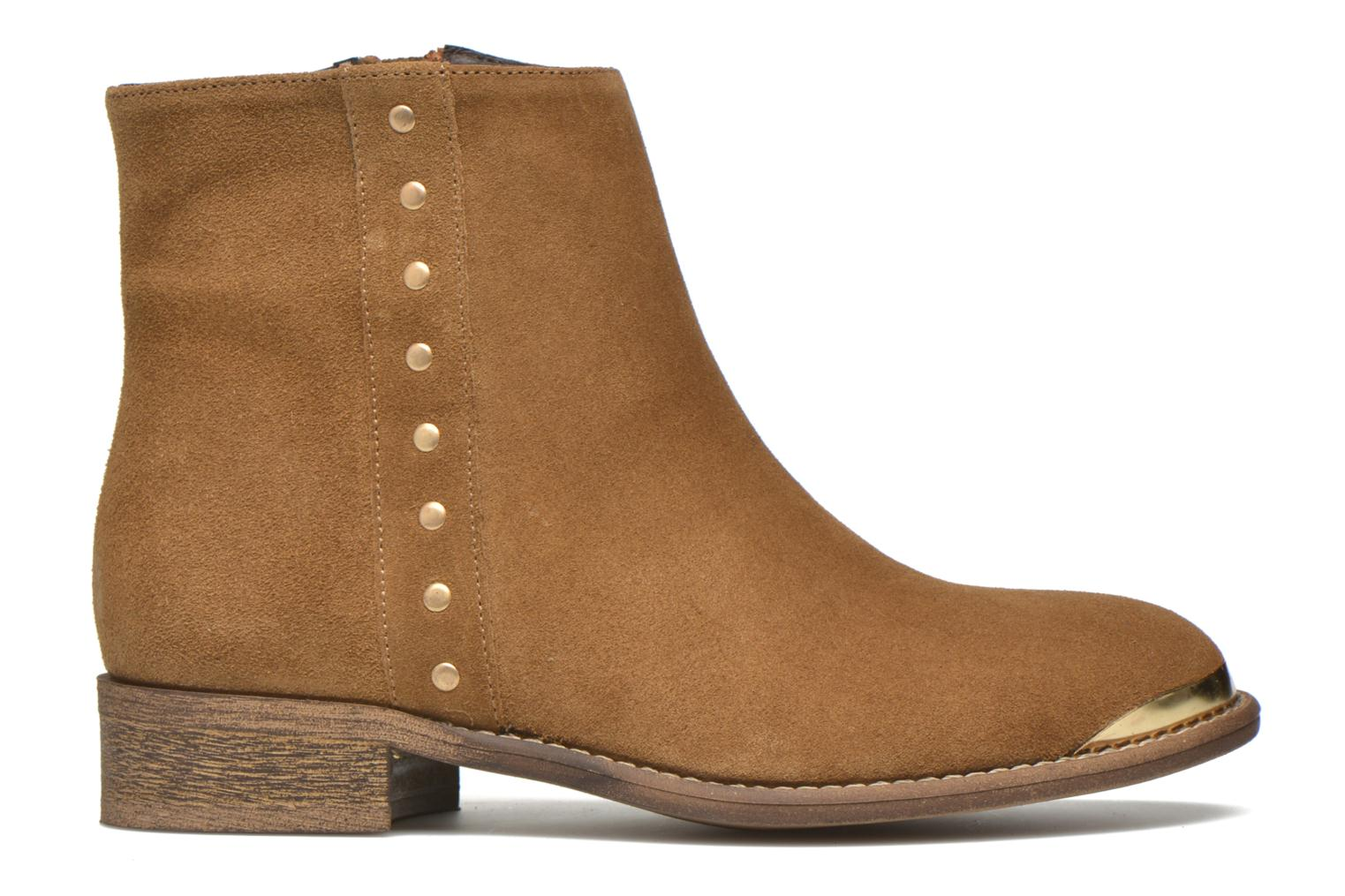 Ankle boots Yep Fanny Beige back view