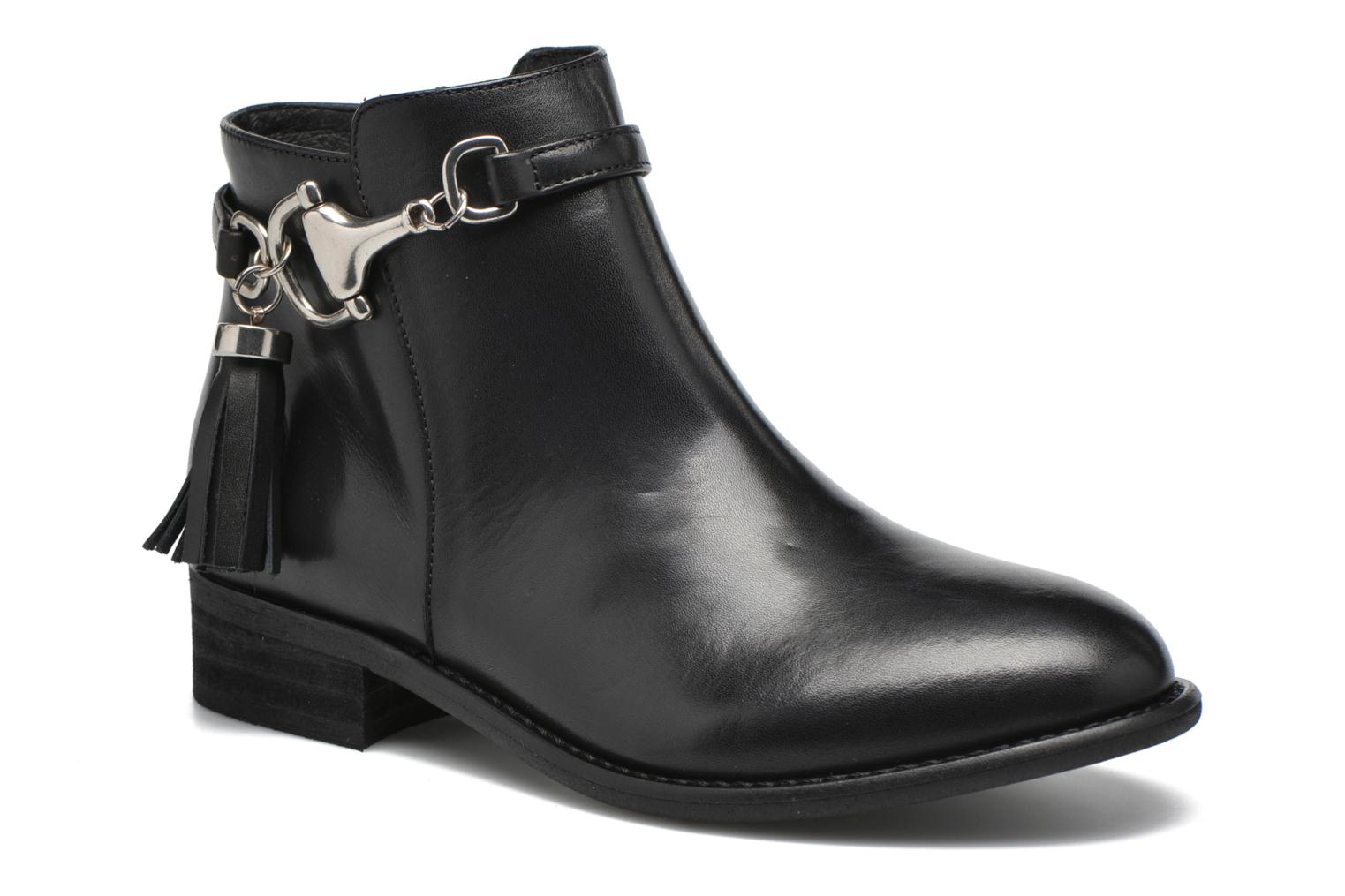 Ankle boots Yep Flavy Black detailed view/ Pair view