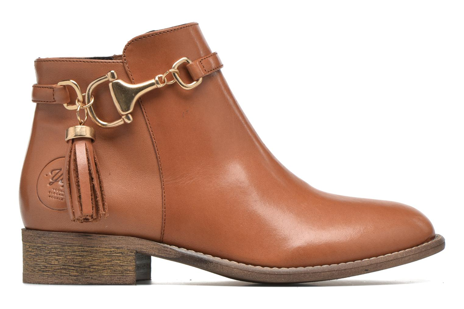 Ankle boots Yep Flavy Brown back view