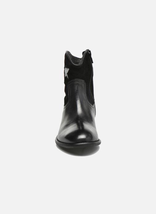 Bottines et boots Yep Farah Noir vue portées chaussures