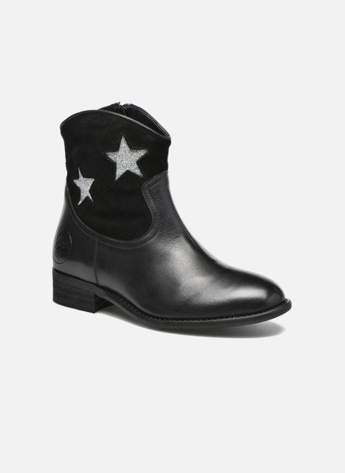 Ankelstøvler Yep Farah Sort detaljeret billede af skoene