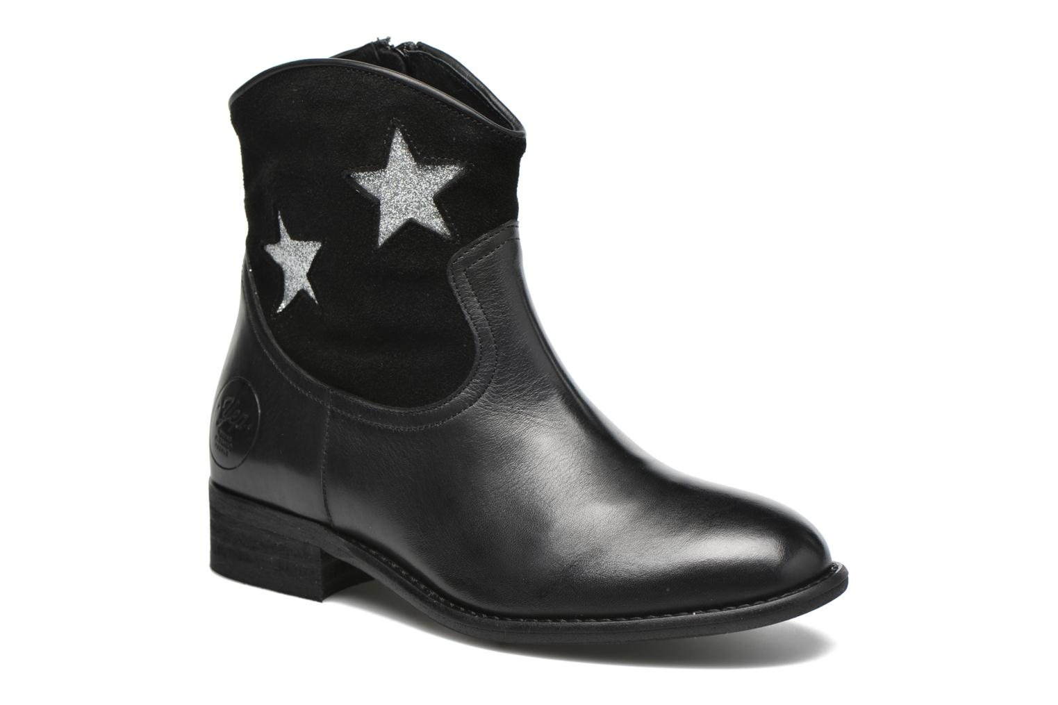 Ankle boots Yep Farah Black detailed view/ Pair view