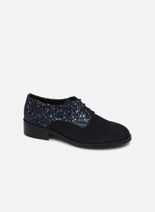 Zapatos con cordones Yep Georgine Azul vista de detalle / par