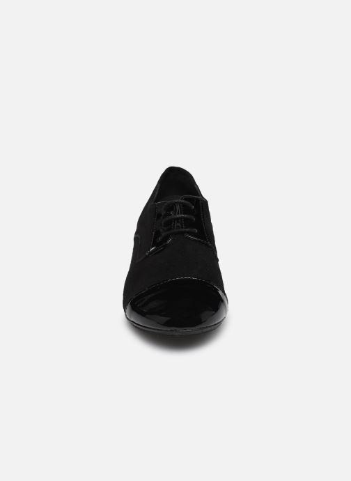 Schnürschuhe Yep Florinda schwarz schuhe getragen