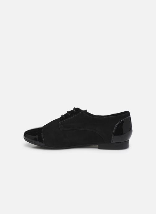 Chaussures à lacets Yep Florinda Noir vue face