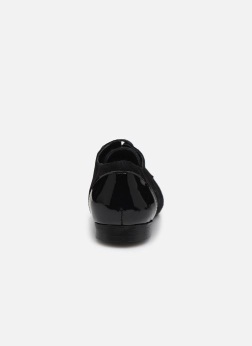 Chaussures à lacets Yep Florinda Noir vue droite