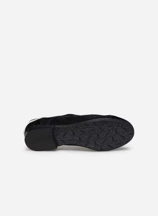 Chaussures à lacets Yep Florinda Noir vue haut