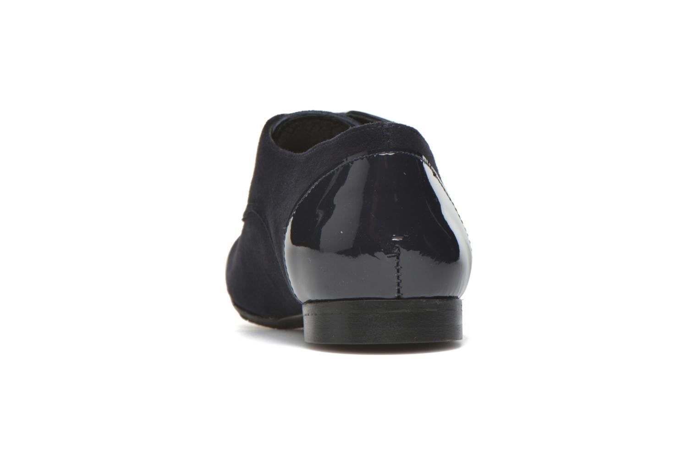 Chaussures à lacets Yep Florinda Bleu vue droite