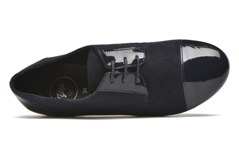 Chaussures à lacets Yep Florinda Bleu vue gauche