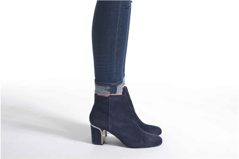 Bottines et boots Minelli Jipé Bleu vue bas / vue portée sac