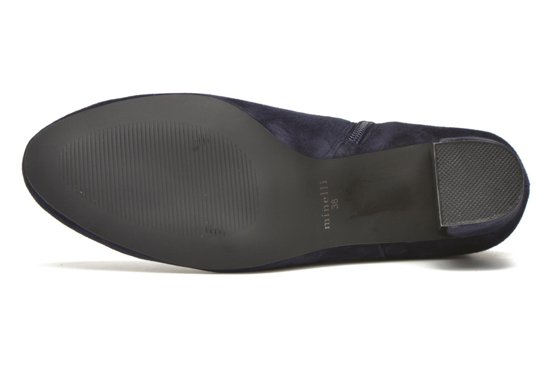 Bottines et boots Minelli Jipé Bleu vue haut