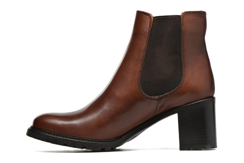Bottines et boots Minelli Elev Marron vue face