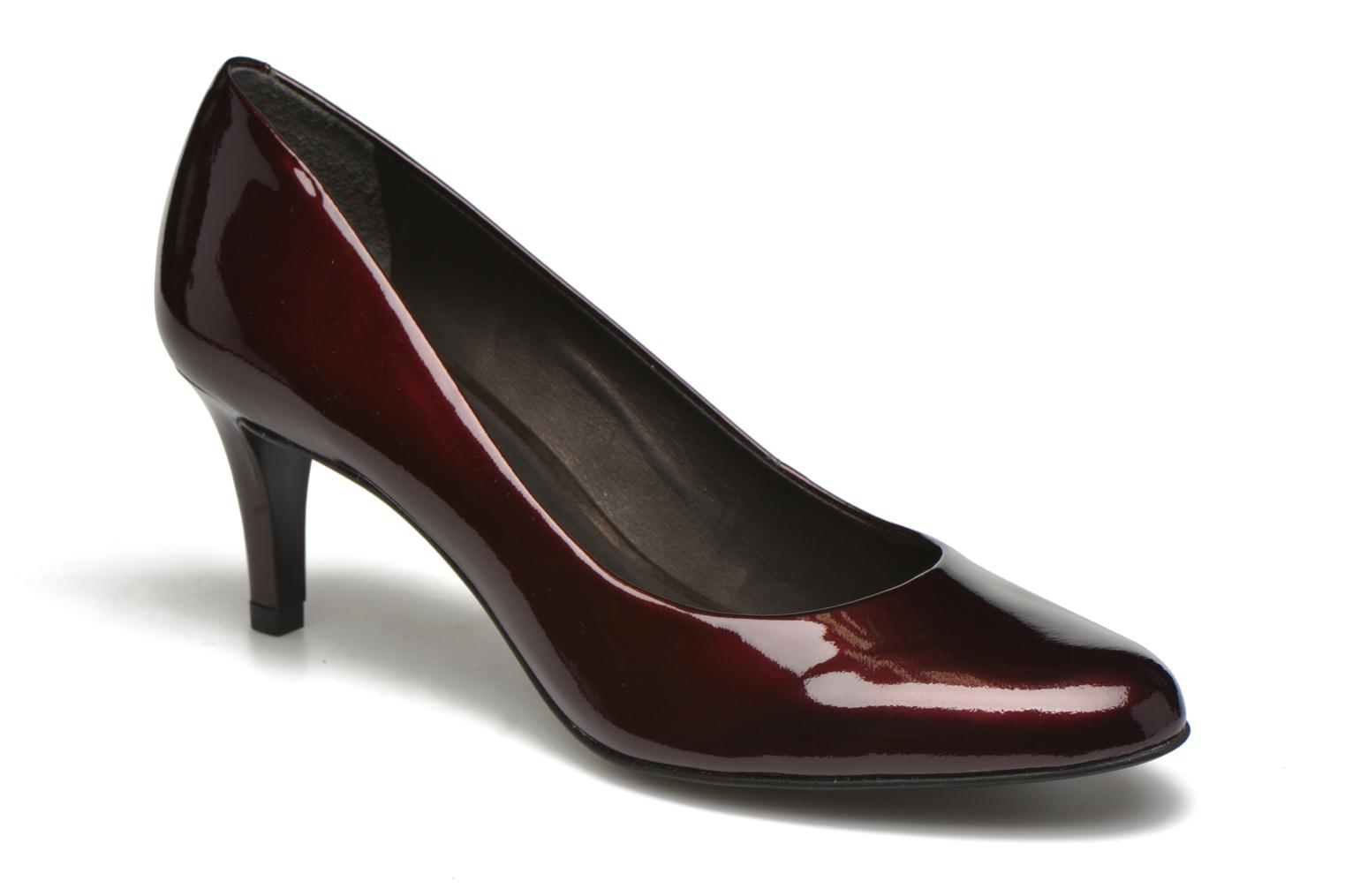 Pumps Minelli Volle Bordeaux detail
