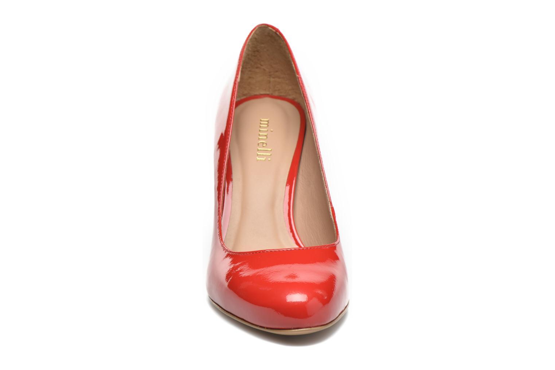 Escarpins Minelli Ebeau Rouge vue portées chaussures