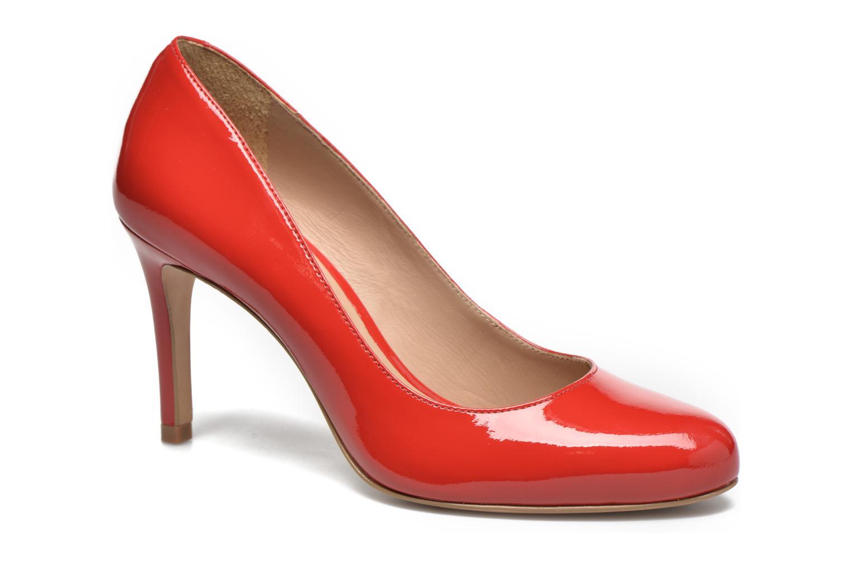 Escarpins Minelli Ebeau Rouge vue détail/paire