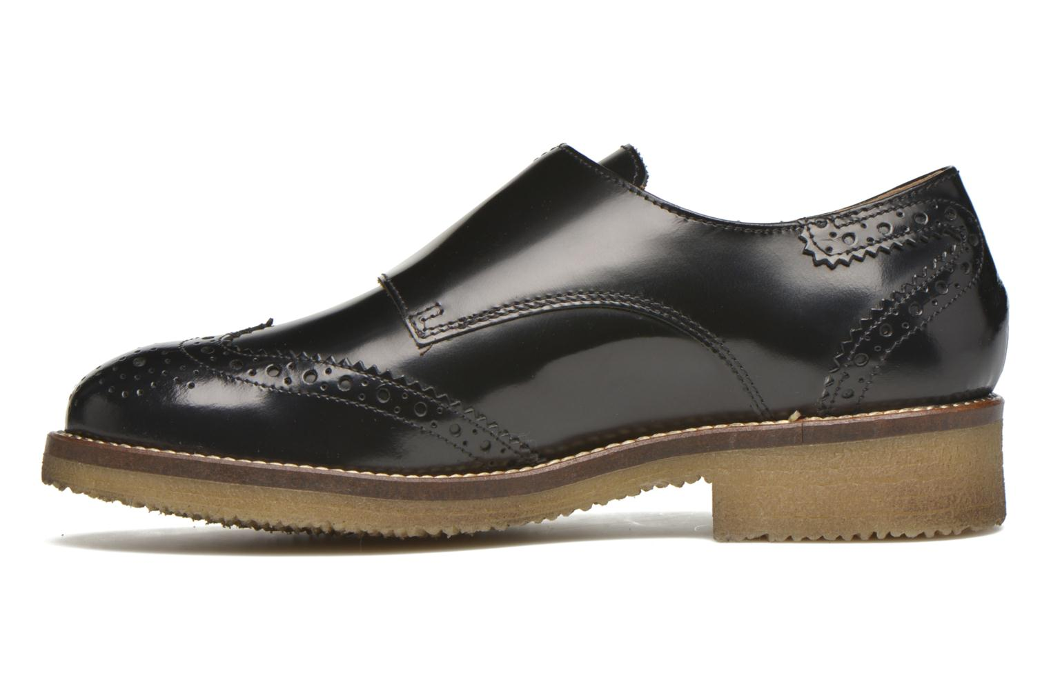 Loafers Minelli Baxe Black front view