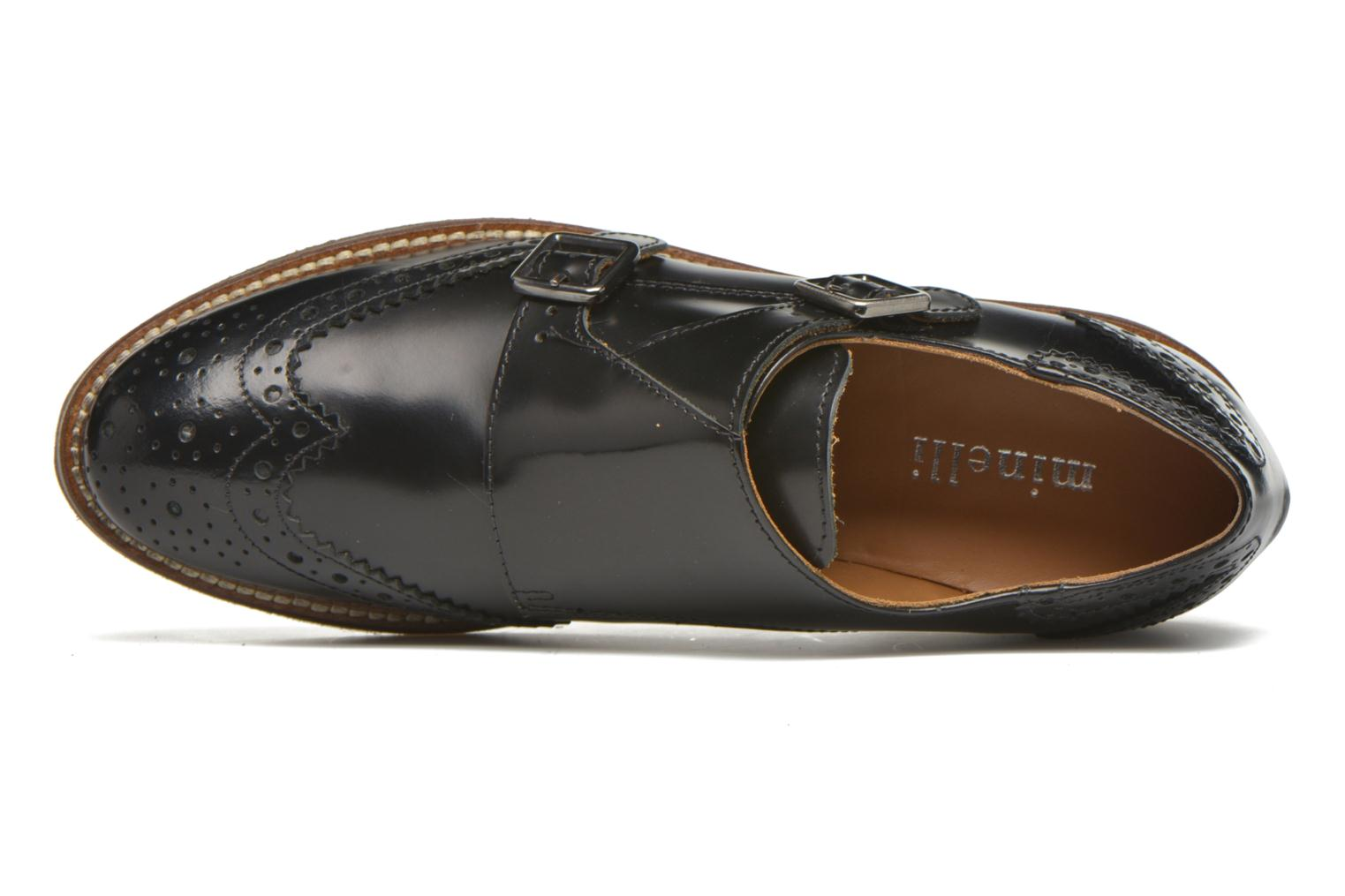Loafers Minelli Baxe Black view from the left