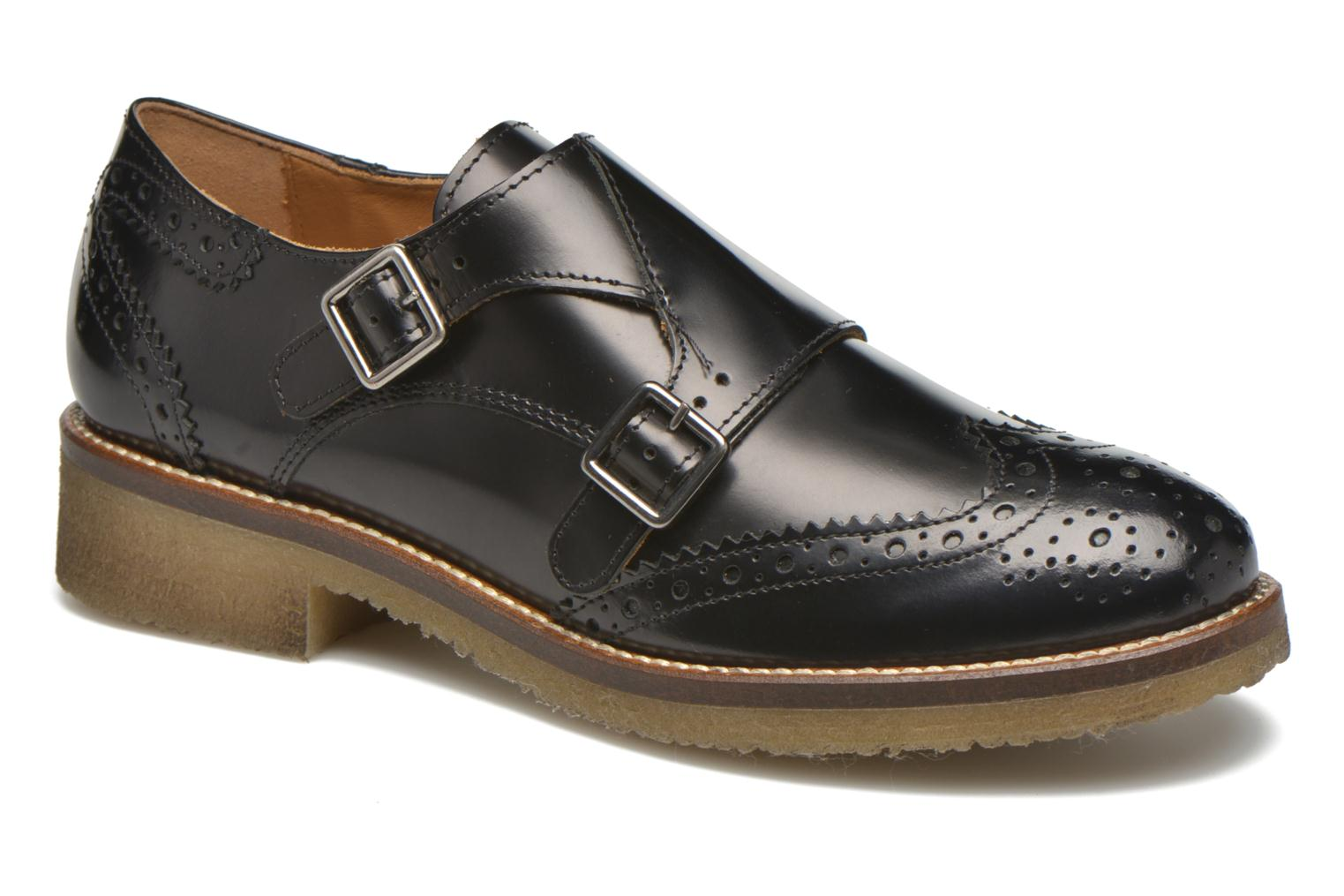 Loafers Minelli Baxe Black detailed view/ Pair view