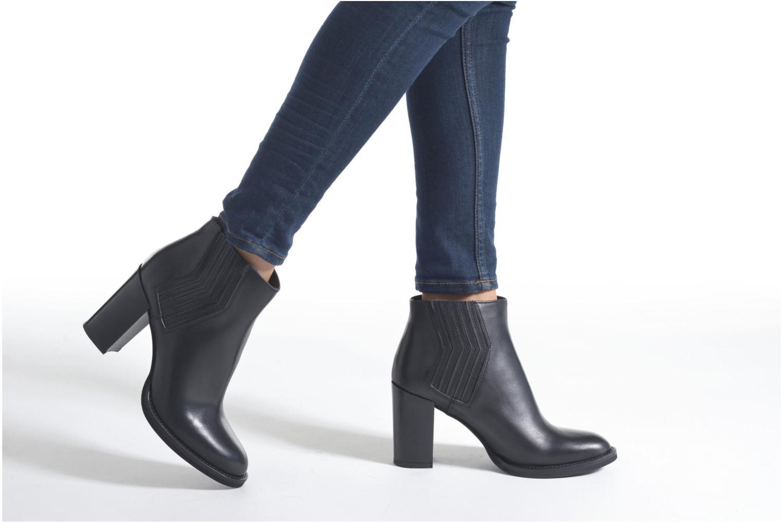 Bottines et boots Minelli Yllip Noir vue bas / vue portée sac