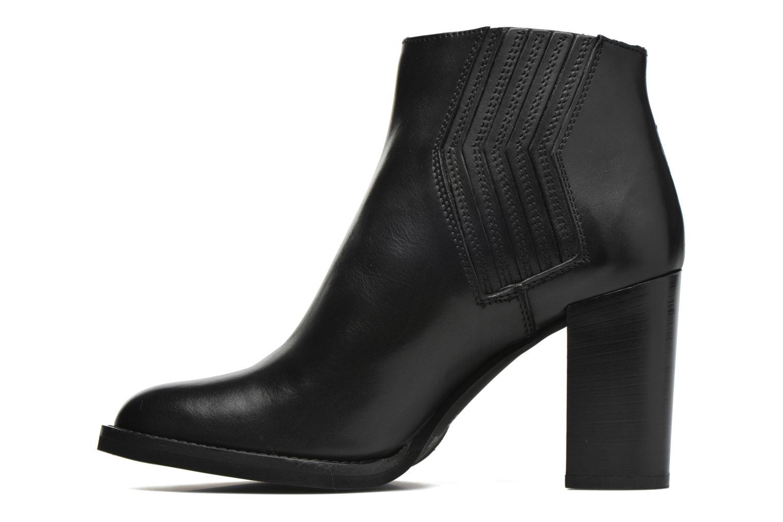 Bottines et boots Minelli Yllip Noir vue face