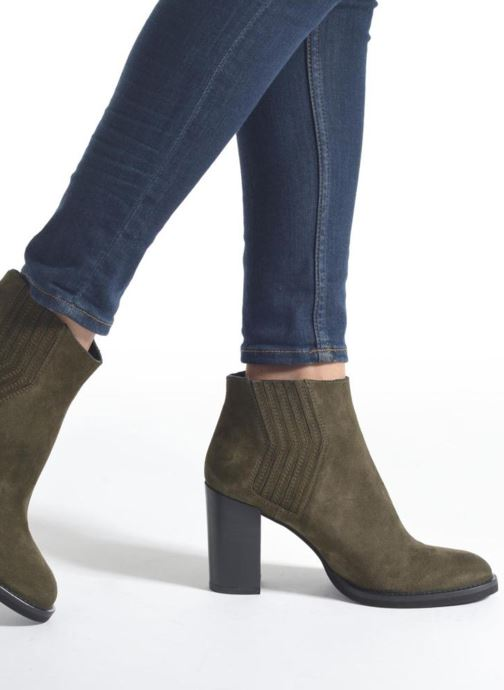 Minelli Yvare (grün) Stiefeletten & Boots chez Sarenza