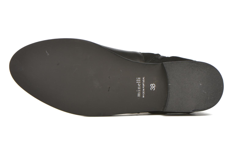Stiefeletten & Boots Minelli Hilp schwarz ansicht von oben