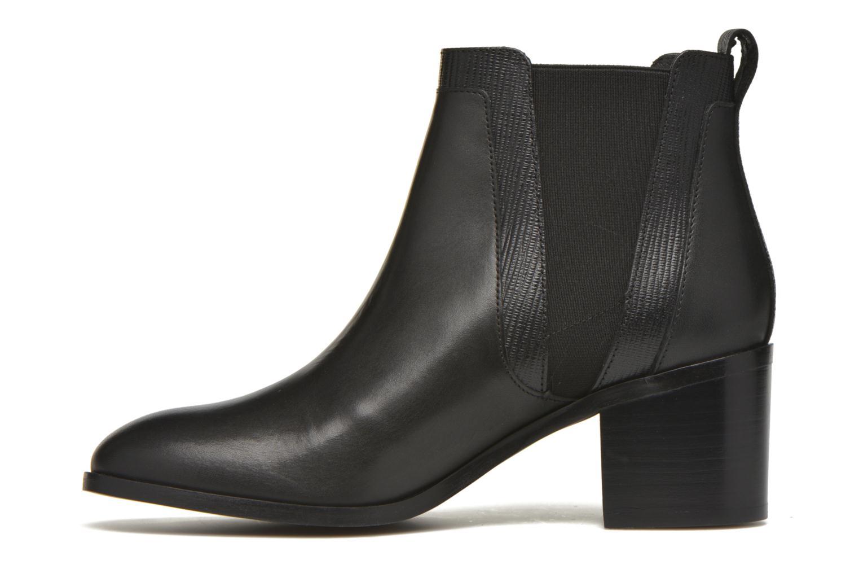 Bottines et boots Minelli Paula Noir vue face