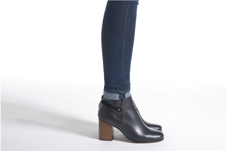 Bottines et boots Minelli Gezial Noir vue bas / vue portée sac