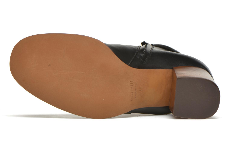 Bottines et boots Minelli Gezial Noir vue haut