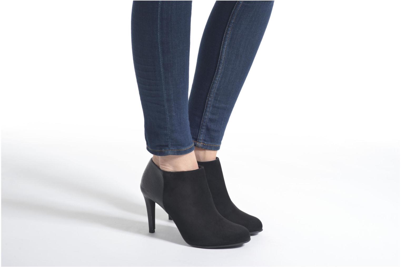 Bottines et boots Minelli Azip Noir vue bas / vue portée sac