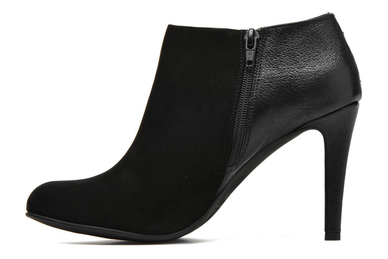 Bottines et boots Minelli Azip Noir vue face