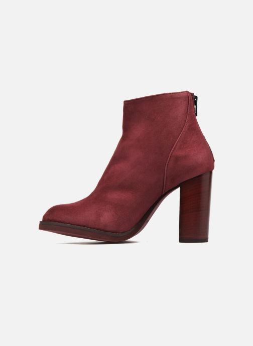 Bottines et boots Minelli Orka Bordeaux vue face