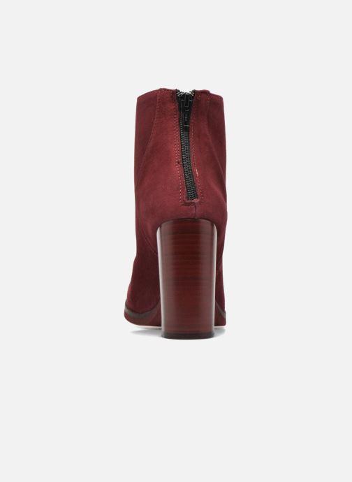 Bottines et boots Minelli Orka Bordeaux vue droite