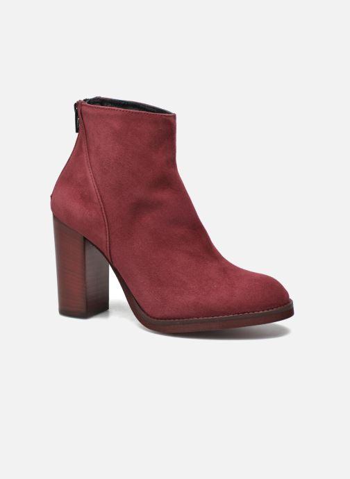 Bottines et boots Minelli Orka Bordeaux vue détail/paire