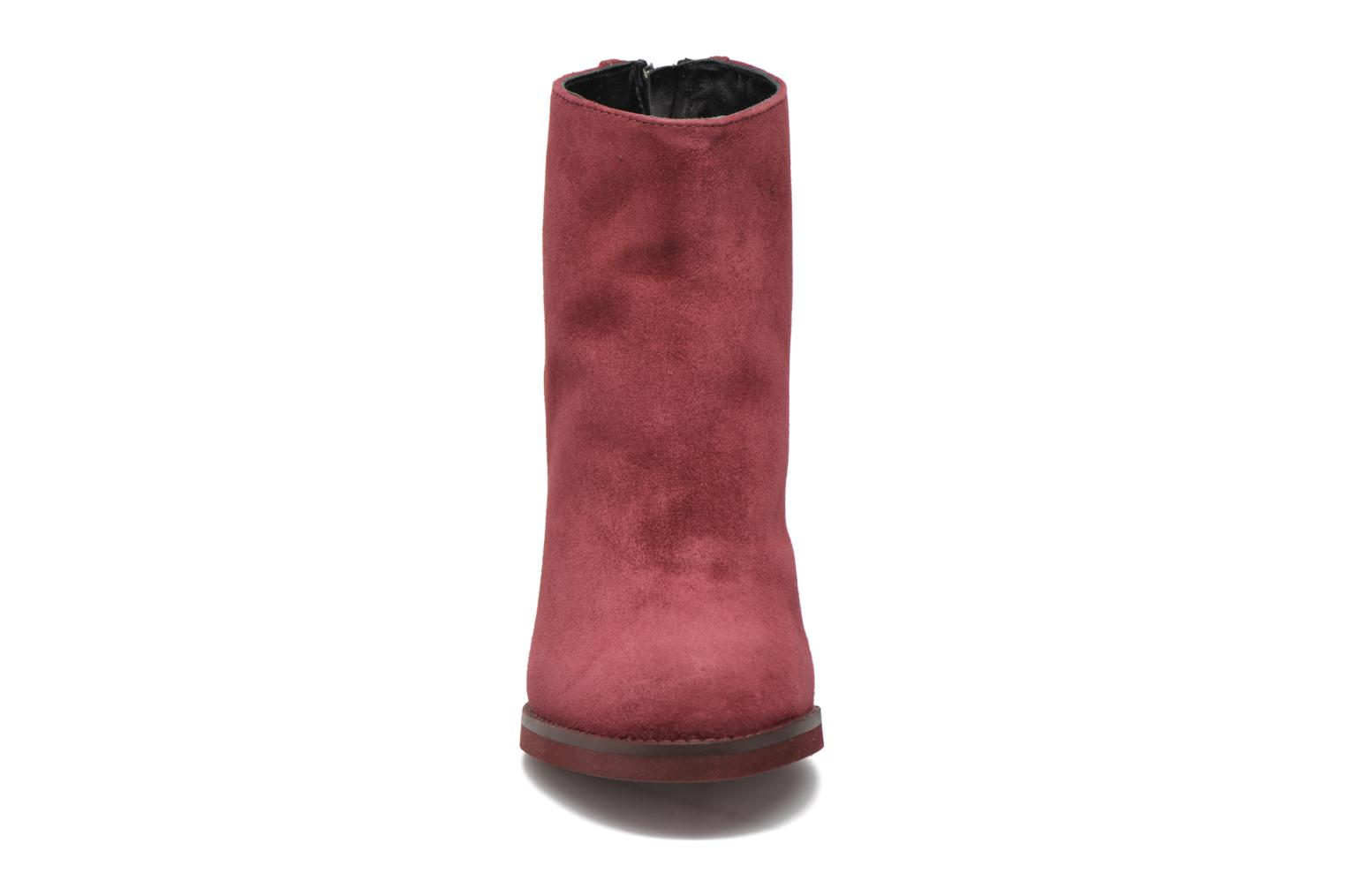 Ankle boots Minelli Orka Burgundy model view