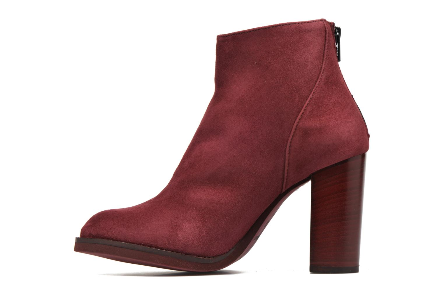 Ankle boots Minelli Orka Burgundy front view