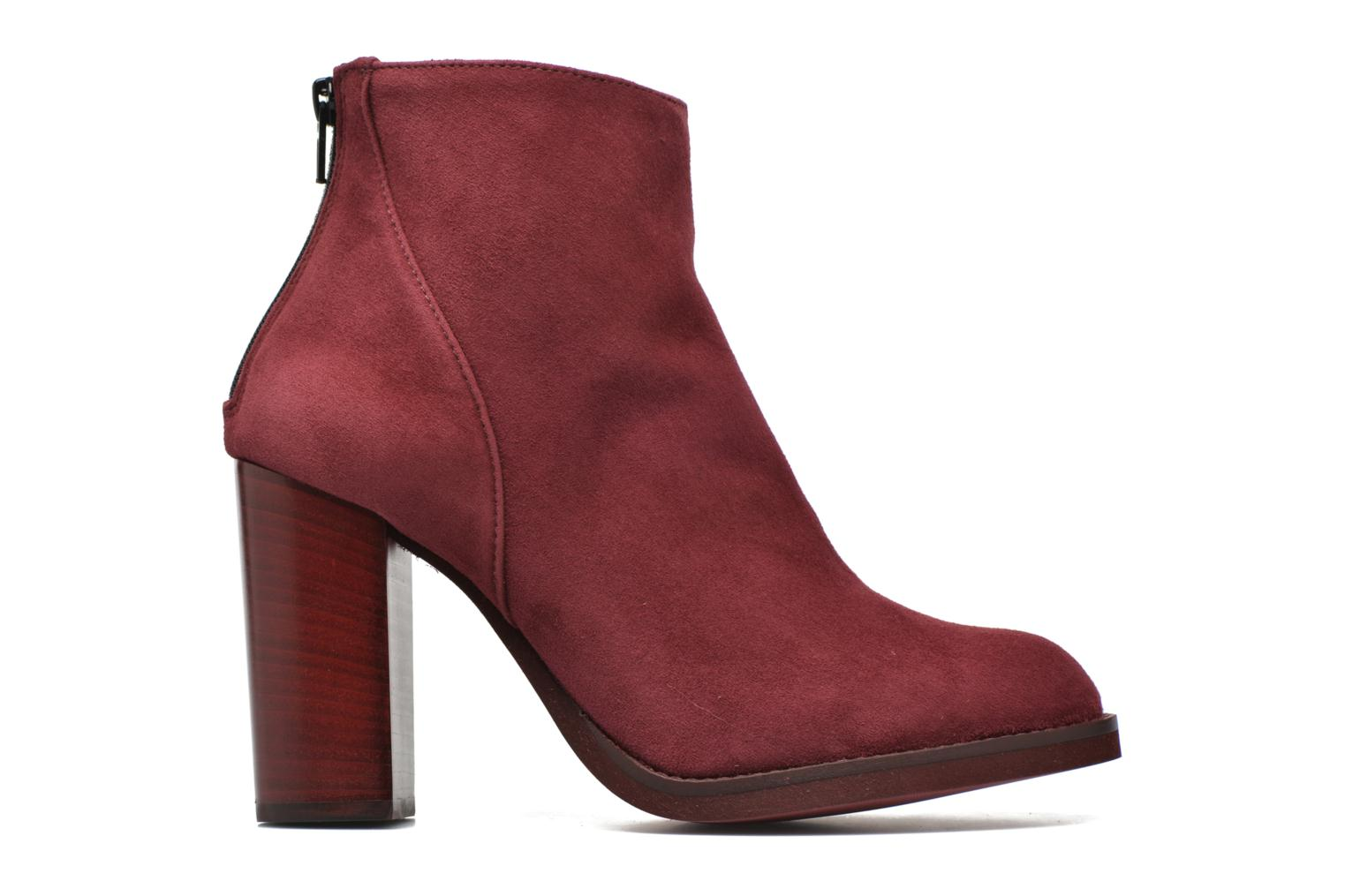 Ankle boots Minelli Orka Burgundy back view