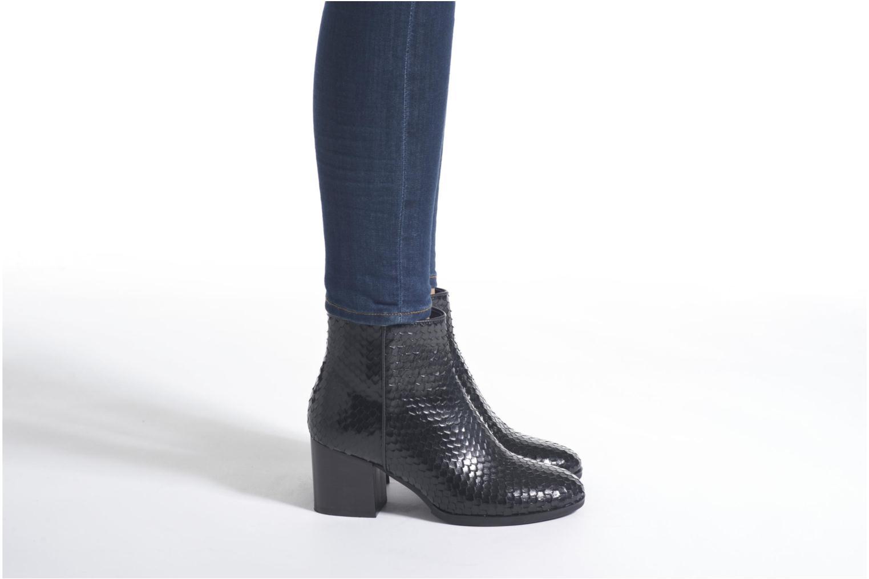 Bottines et boots Minelli Zopa Noir vue bas / vue portée sac