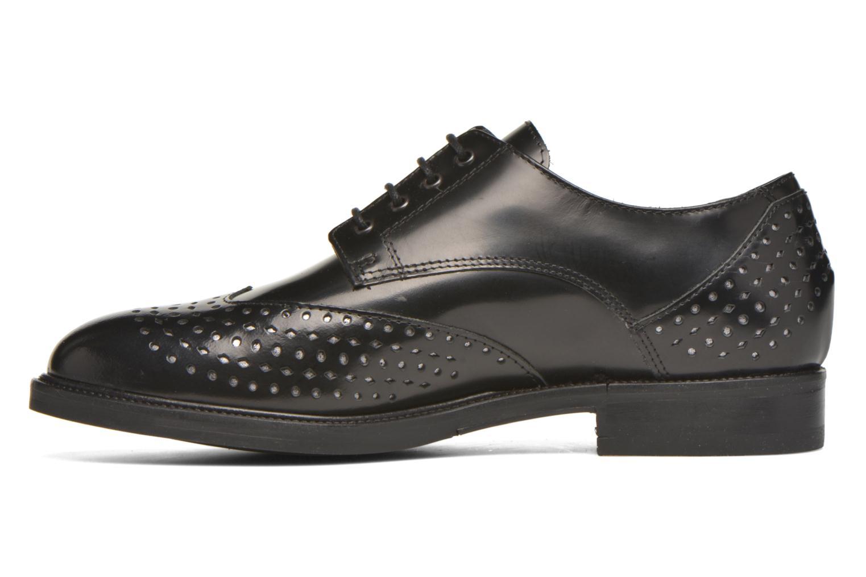 Lace-up shoes Minelli Elmé Black front view