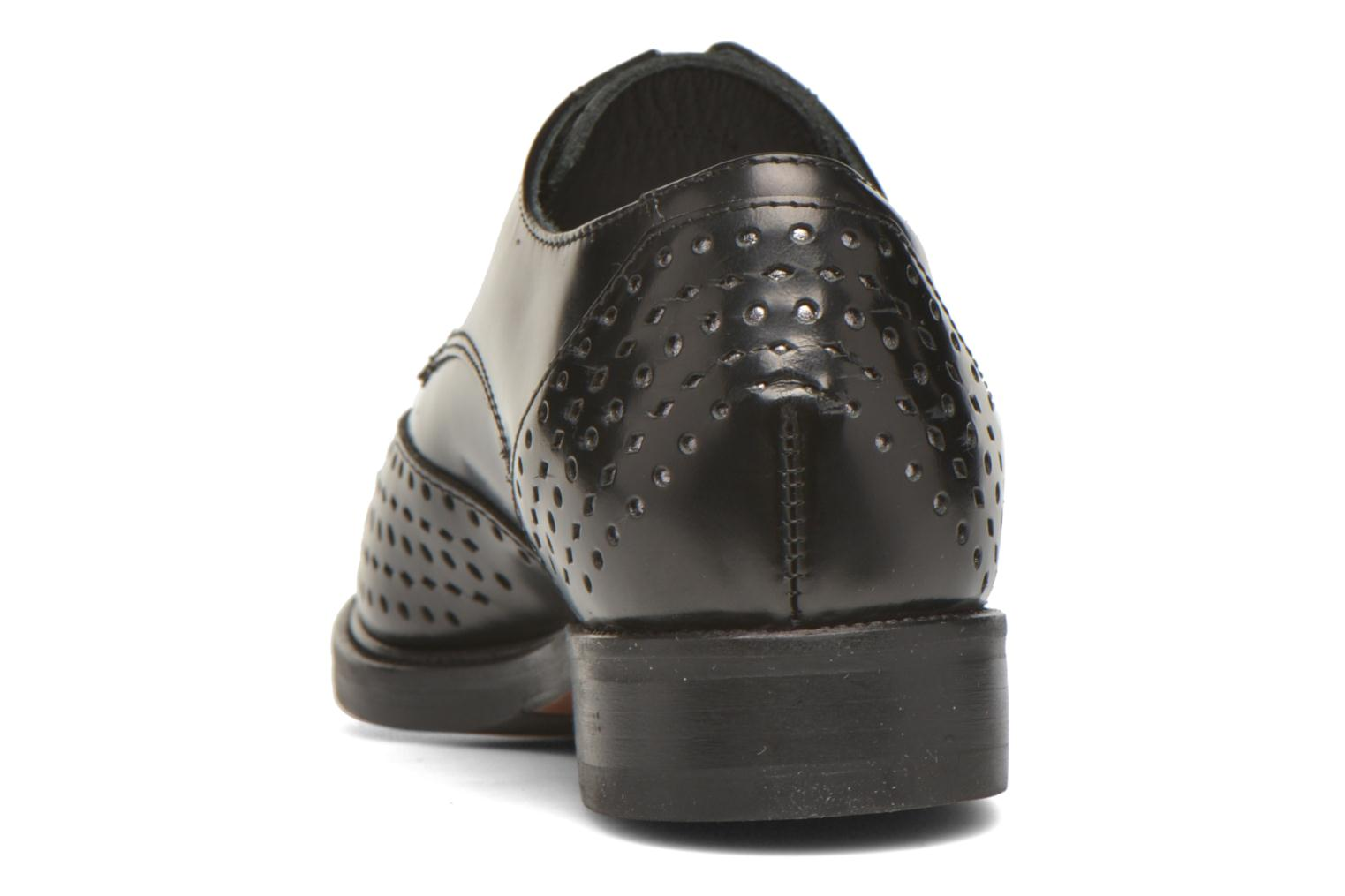 Lace-up shoes Minelli Elmé Black view from the right