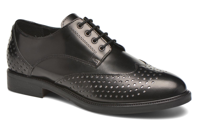 Lace-up shoes Minelli Elmé Black detailed view/ Pair view