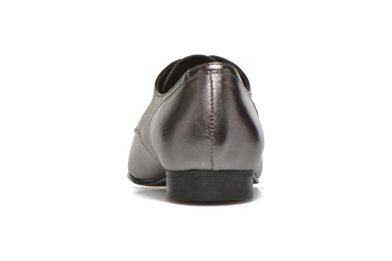 Chaussures à lacets Minelli Biby Or et bronze vue droite