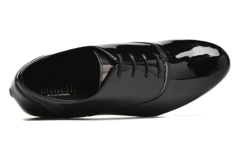 Chaussures à lacets Minelli Scintyll Noir vue gauche